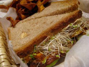 Crema Cafe Vegan Sandwich