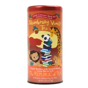 Strawberry Vanilla Tea