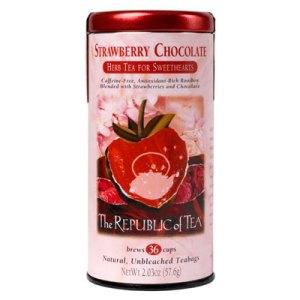 Strawberry Chocolate Tea