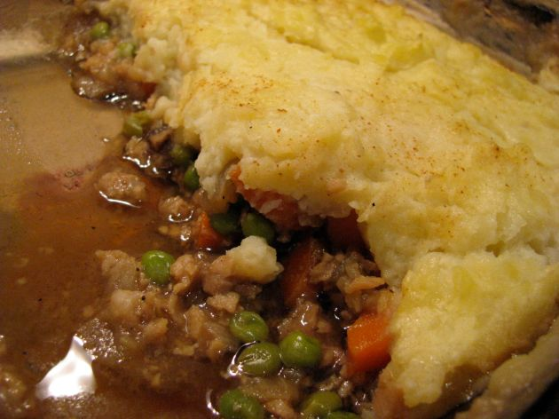 Closeup of Sheep's Pie