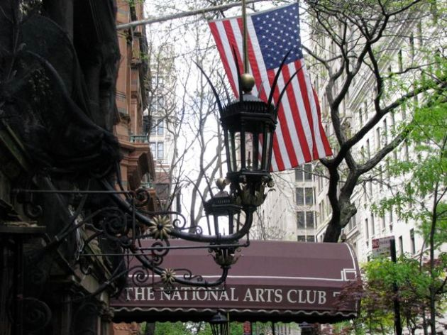 Writing weekend at the National Club for the Arts