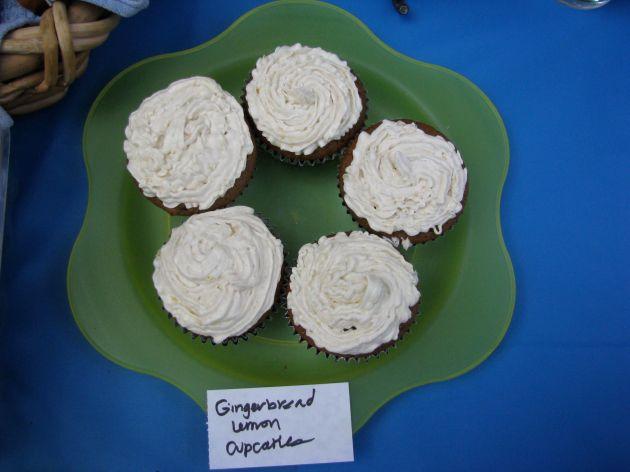 Lemon ginger cupcakes