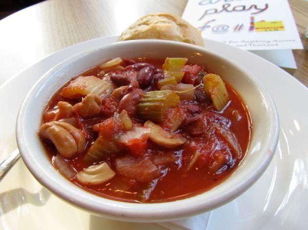 Vegan Cashew Chili!