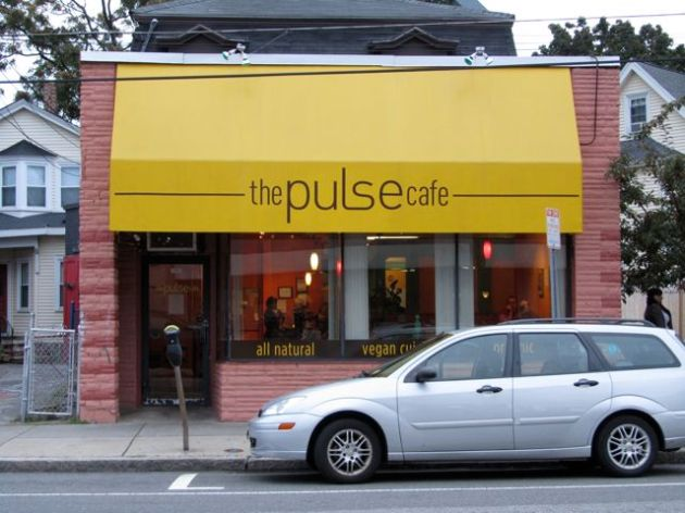Good times at the all-vegan Pulse Cafe in Davis Square