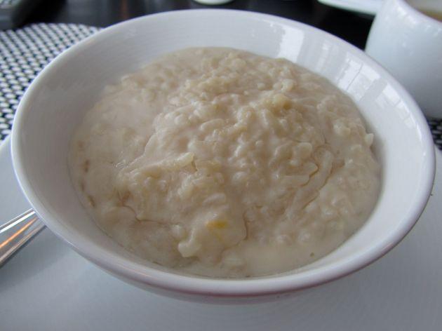 Coconut lemon rice pudding